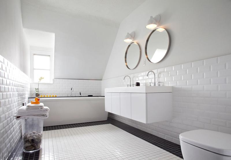 Łazienka METRO + mozaika 4,8 podłoga