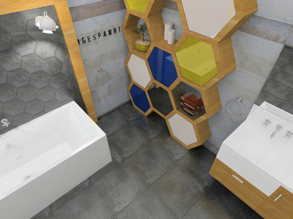 Heksagonalne Płytki I Półki Inspiracje Kaflando