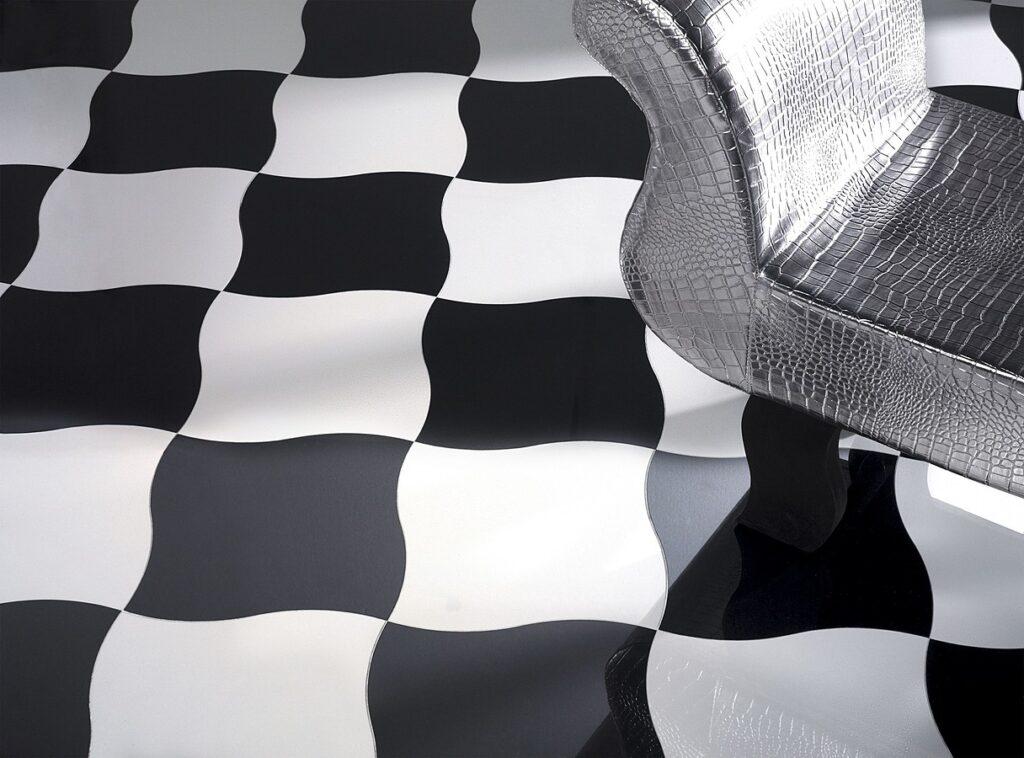 BLACK WHITE LUXURY wzór 2-1