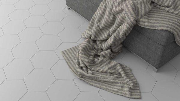 HEXAGON DOBLO grey 20×20