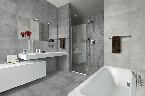 concrete bathroom tiles sydney