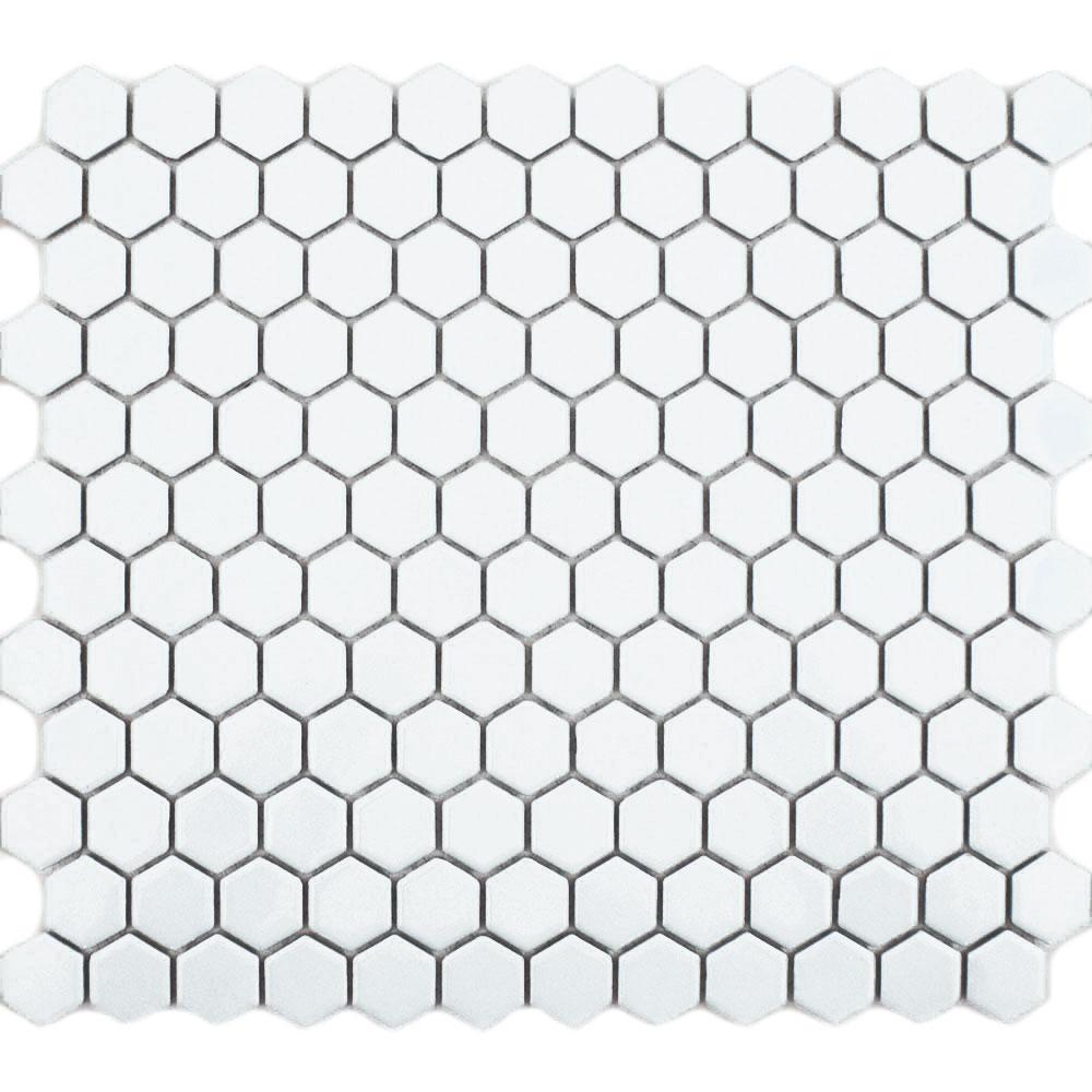 mozaika heksagonalna 2,3x2,3 white