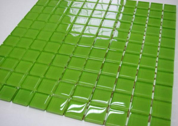 mozaika szklana limonka 2