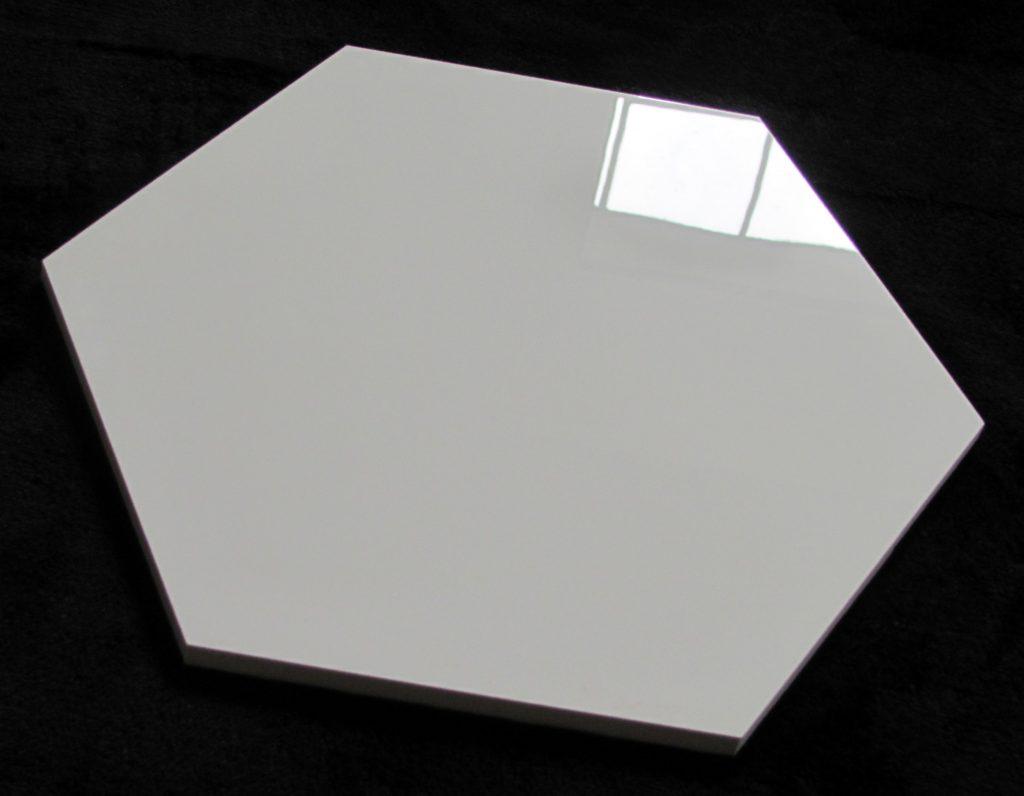 płytka heksagonalna SUPER WHITE POLER 30x30