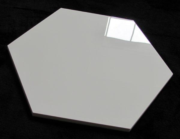 płytka heksagonalna SUPER  WHITE POLER 30×30