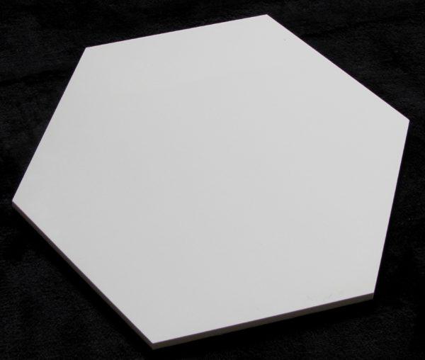 płytka heksagonalna  WHITE MAT 30×30 1