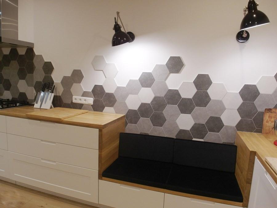 Płytki Heksagonalne Hexa Cemento 2 Grey 20x17