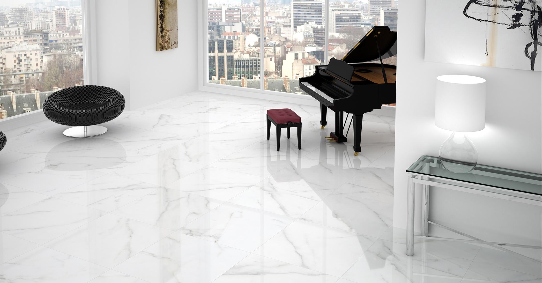 Gres Carrara 60x60 54 90 M2 ImitujĄcy Marmur PoŁysk