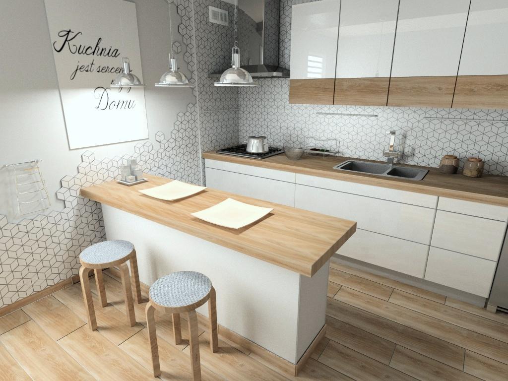 Mozaika Rombus Espania Wood Inspiracje Kaflando