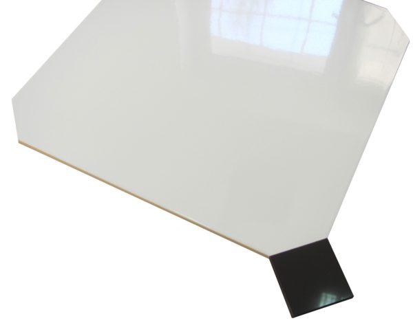płytki oktagonalne WHITE brillo 45×45 + kostka