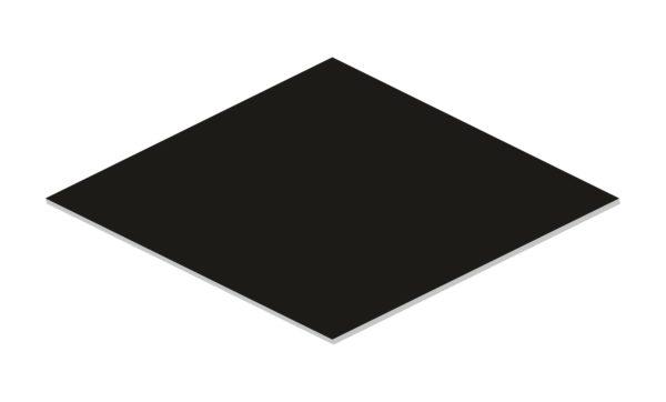 rombus black mat