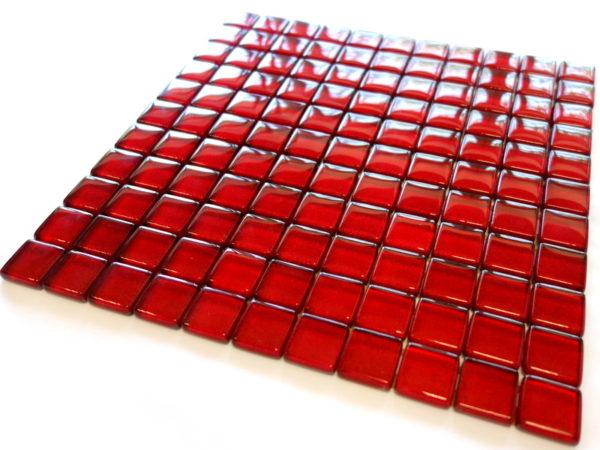 mozaika szklana karmazyn czerwona listwa (4)