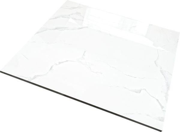 WHITE MARBLE poler 60×60 BIAŁE
