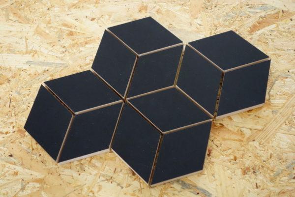 mozaika rombus black czarna glazura (2)