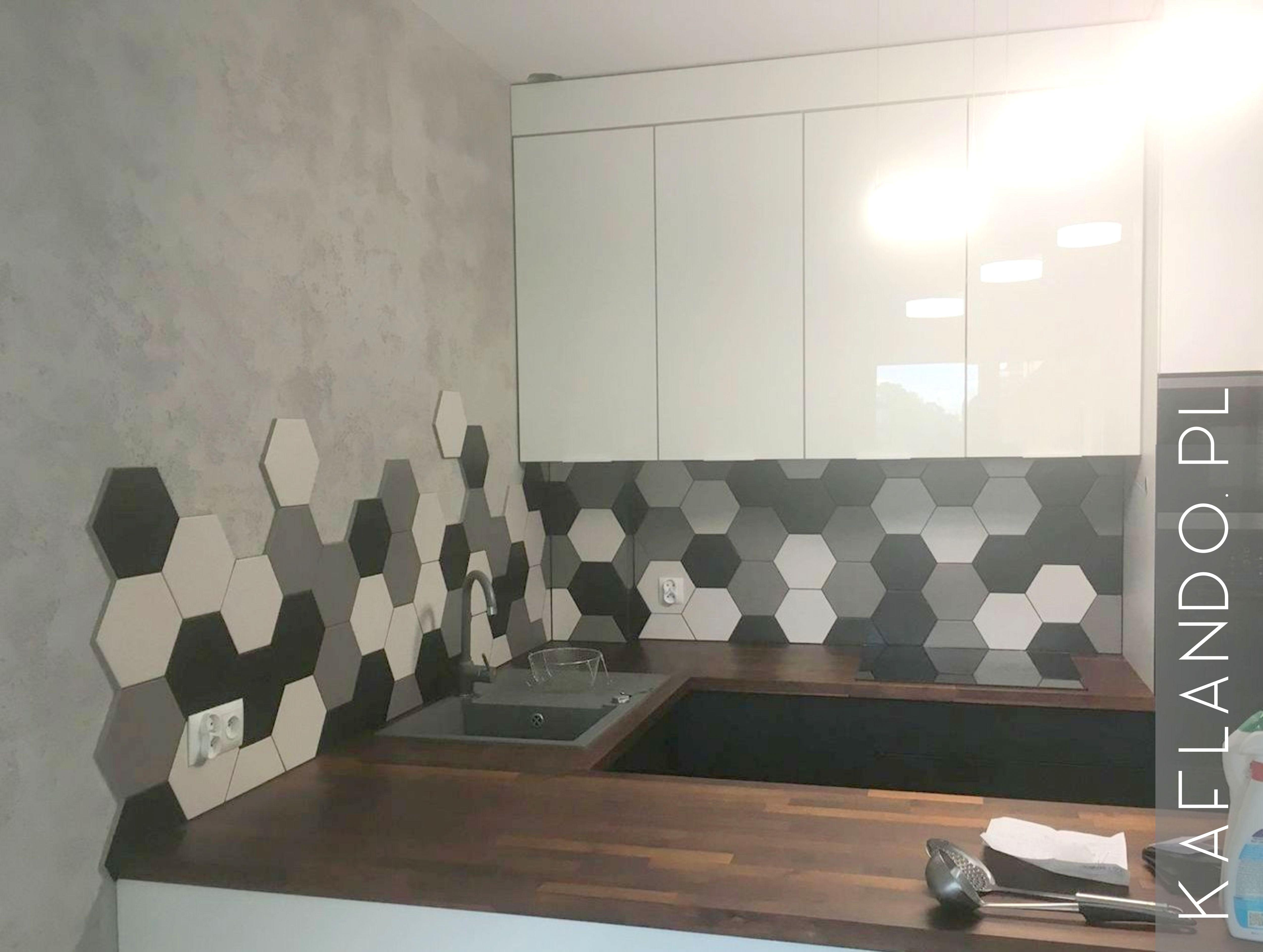 Płytki Heksagonalne Mix Toscana 123 25x28 Monocolory