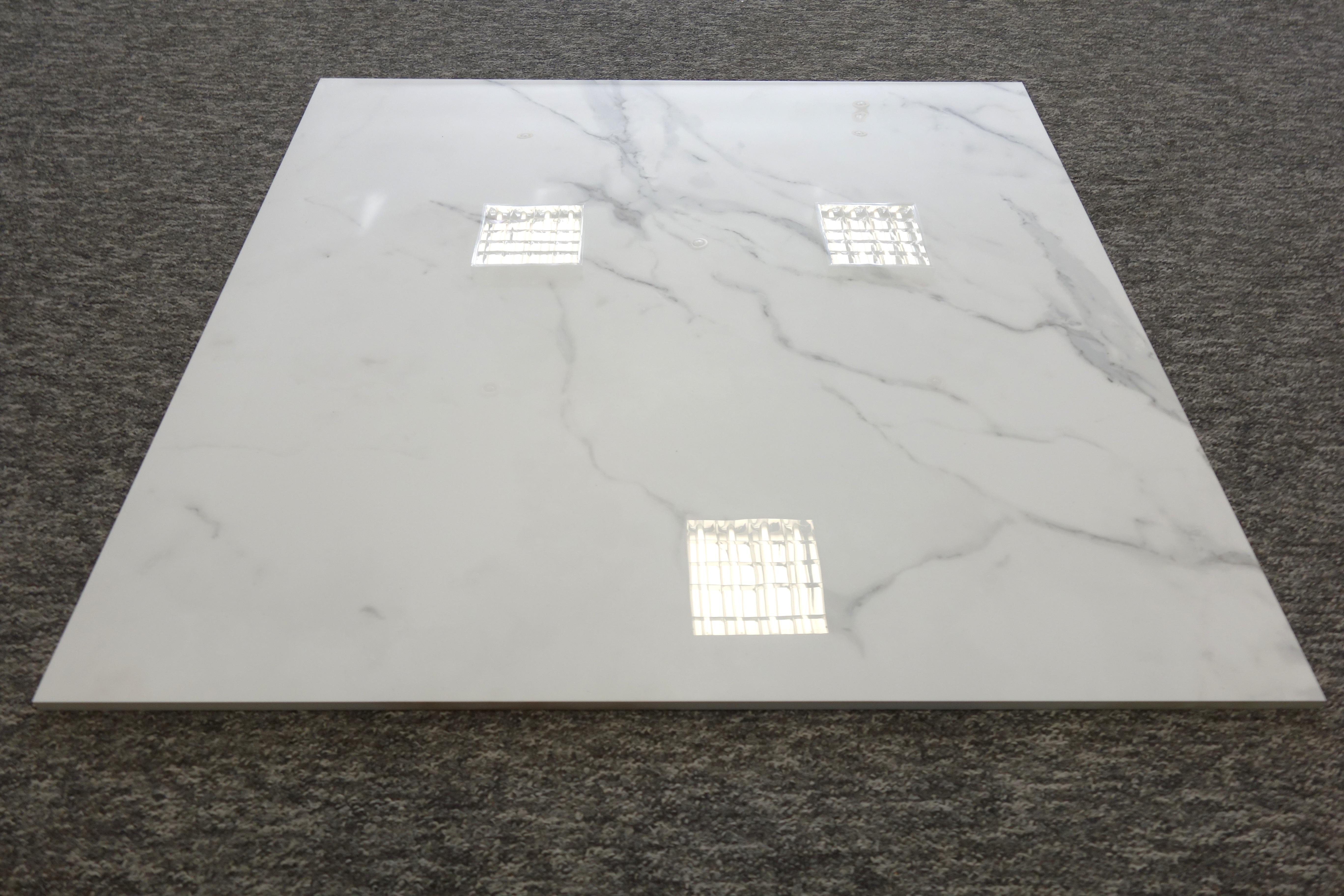 Gres Carrara 80x80 Poler Poler Polerowany 8900m2 Imitujący Biały
