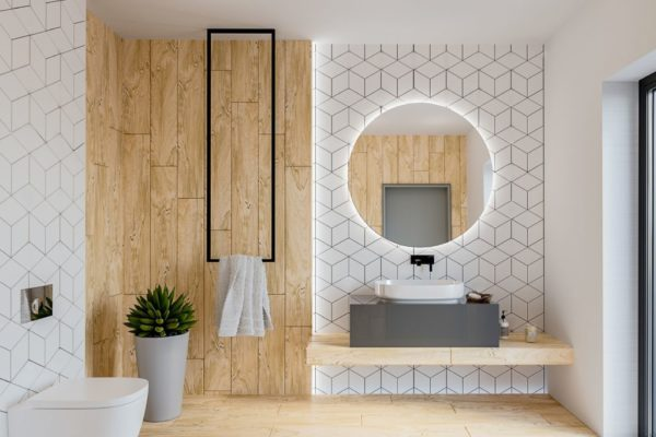 łazienka ROMBUS WHITE RISCO FN 2 cdr