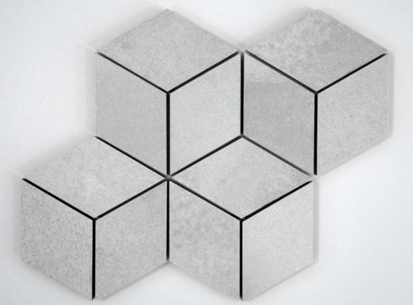 mozaika ROMBUS RUST 1