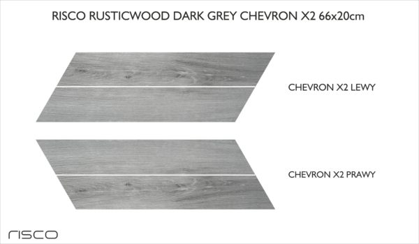 infografika CHEVRON X2 RUSTICWOOD GREY