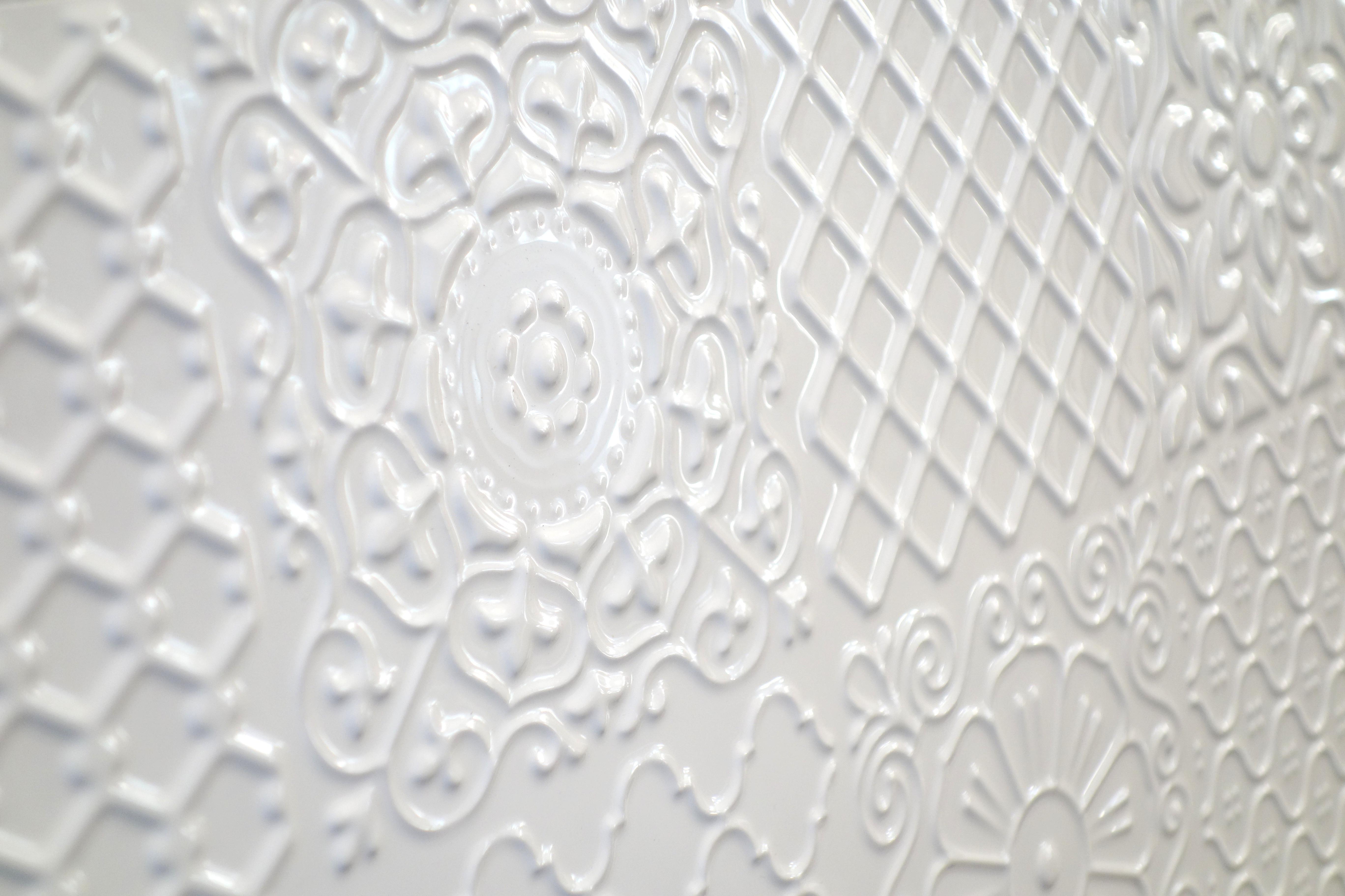 Płytki 3d Patchwork Carpet 60x30cm Biały
