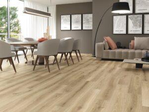 płytki podłogowe drewnopodobne jasne