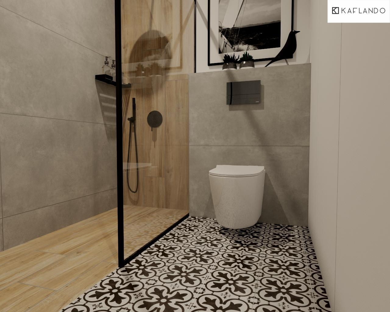 płytki patchwork do łazienki